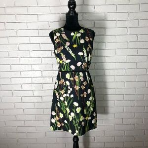 Victoria Beckham for Target Black Floral Dress